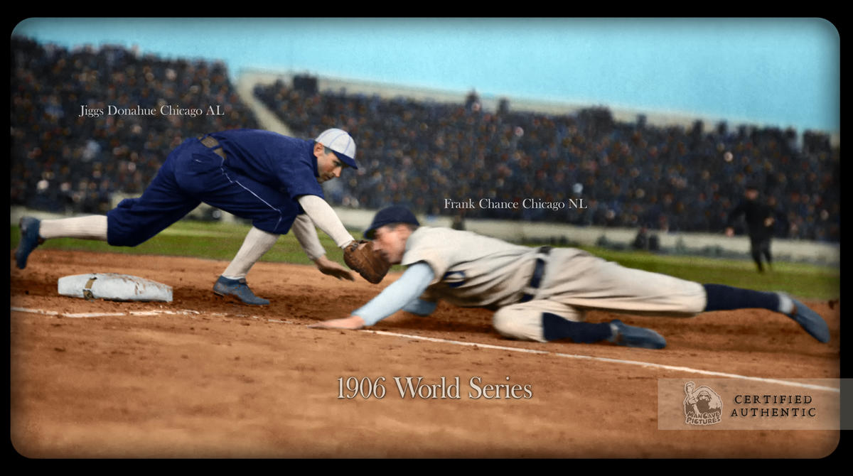 1906 World Series Action