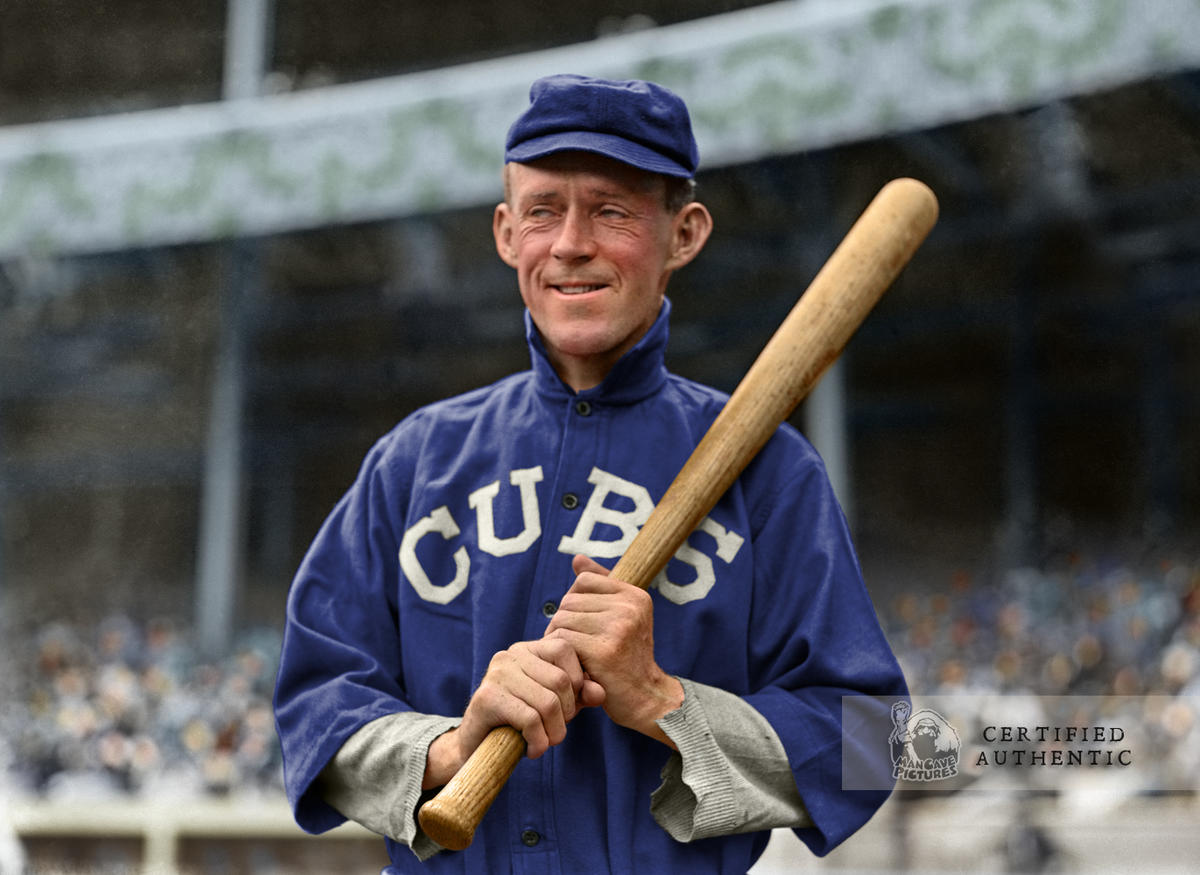 Johnny Evers - Chicago Cubs (1913)