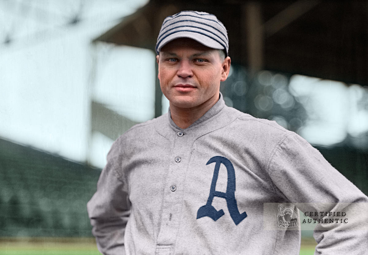 Amos Strunk - Philadelphia Athletics (1914)