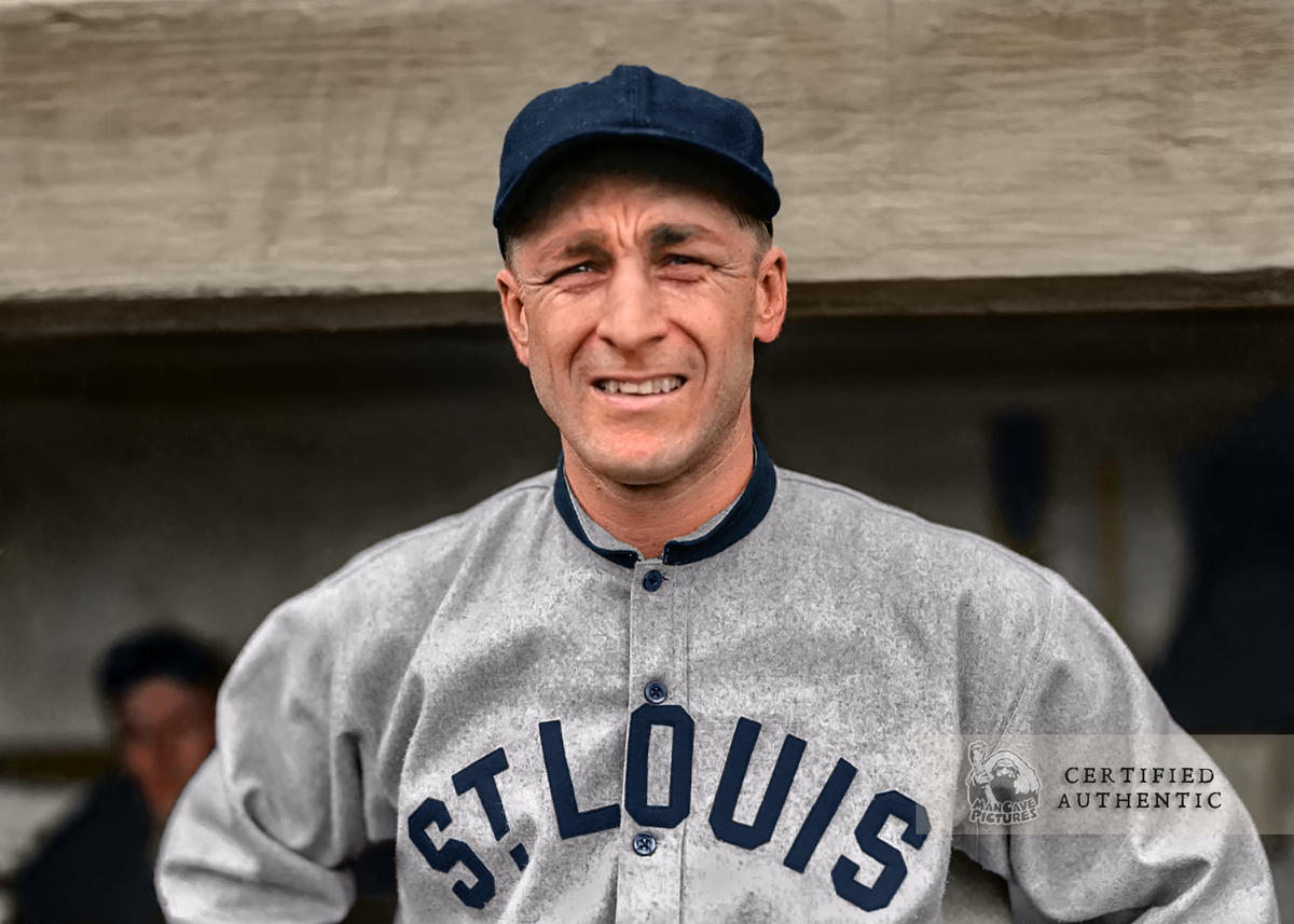 Branch Rickey - St. Louis Browns (1914)