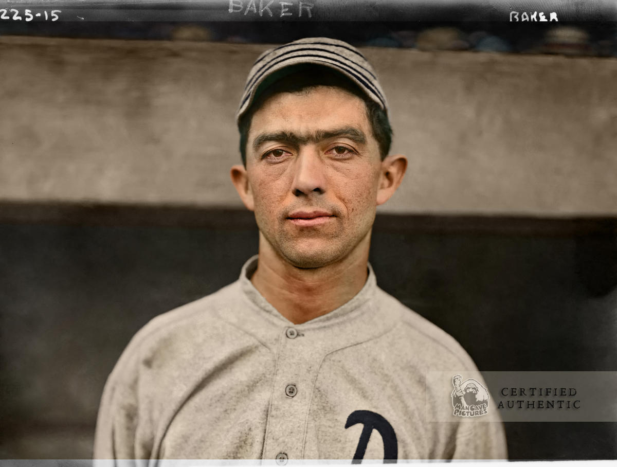 Frank 'Home Run' Baker - Philadelphia Athletics (1913)