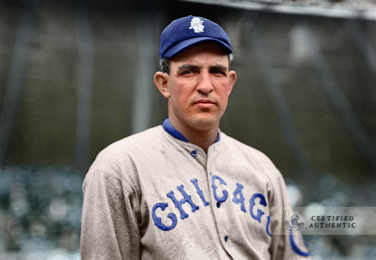 Hippo Vaughan - Chicago Cubs (1914)