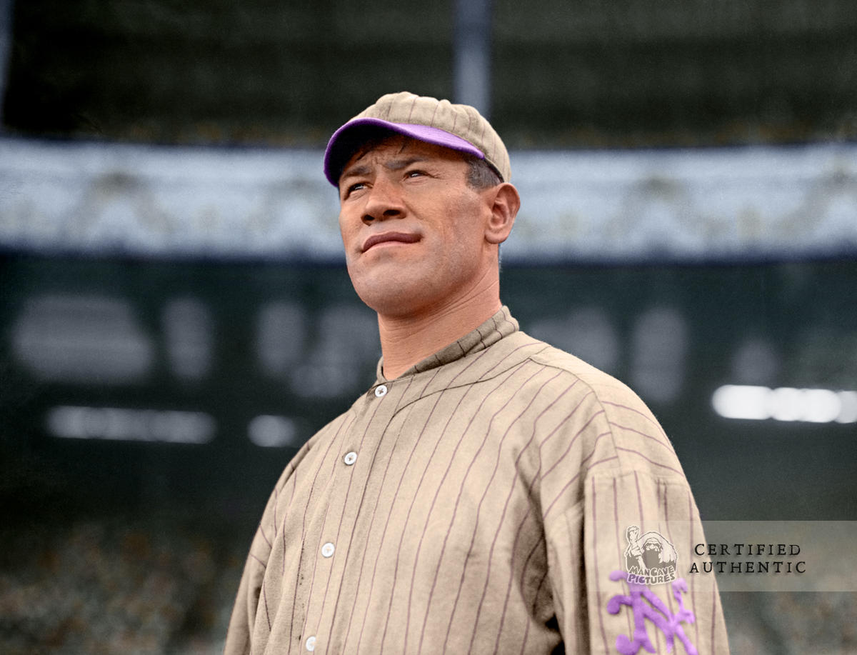 Jim Thorpe - New York Giants (1913)