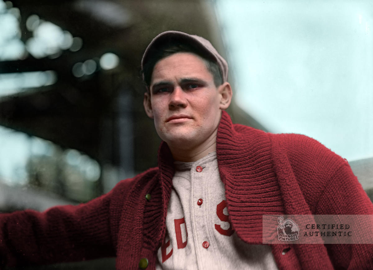 Hubert 'Dutch' Leonard - Boston Red Sox (1915)