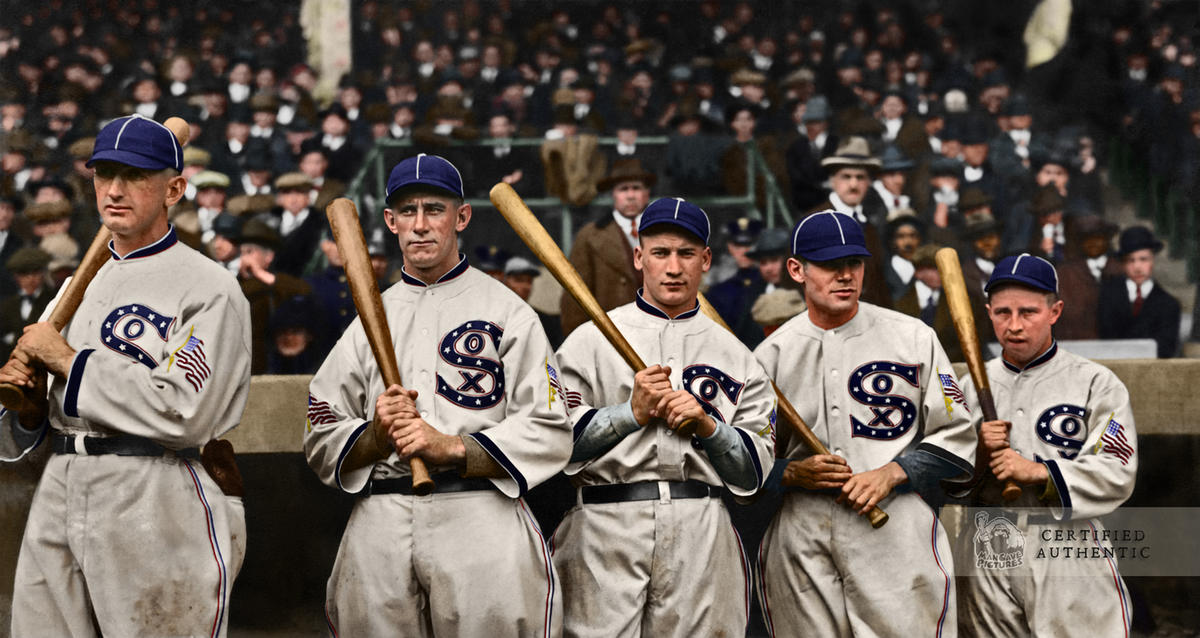 Chicago White Sox Outfielders @ 1917 World Series