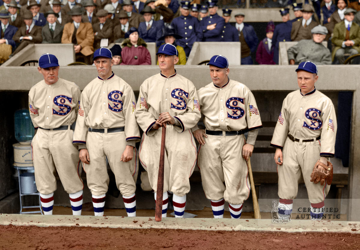 Chicago White Sox Outfielders at the World Series (1917)