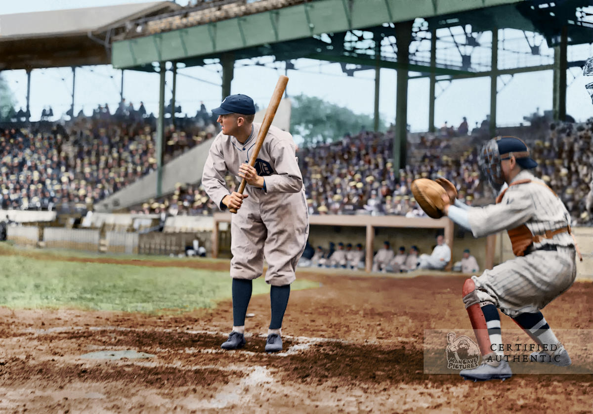 Ty Cobb - Detroit Tigers (1921)