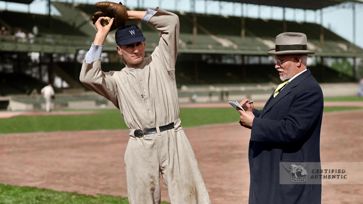 Walter Johnson - Washington Senators (1924)