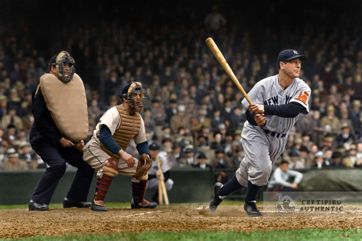 Lou Gehrig - New York Yankees (1938)