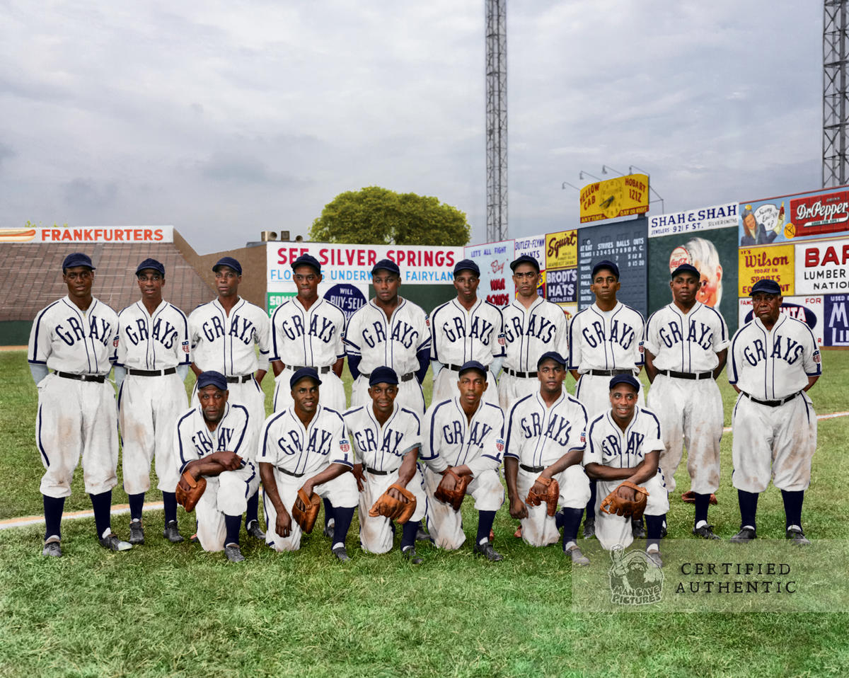 1943 Homestead Grays - Negro League World Series Champion.