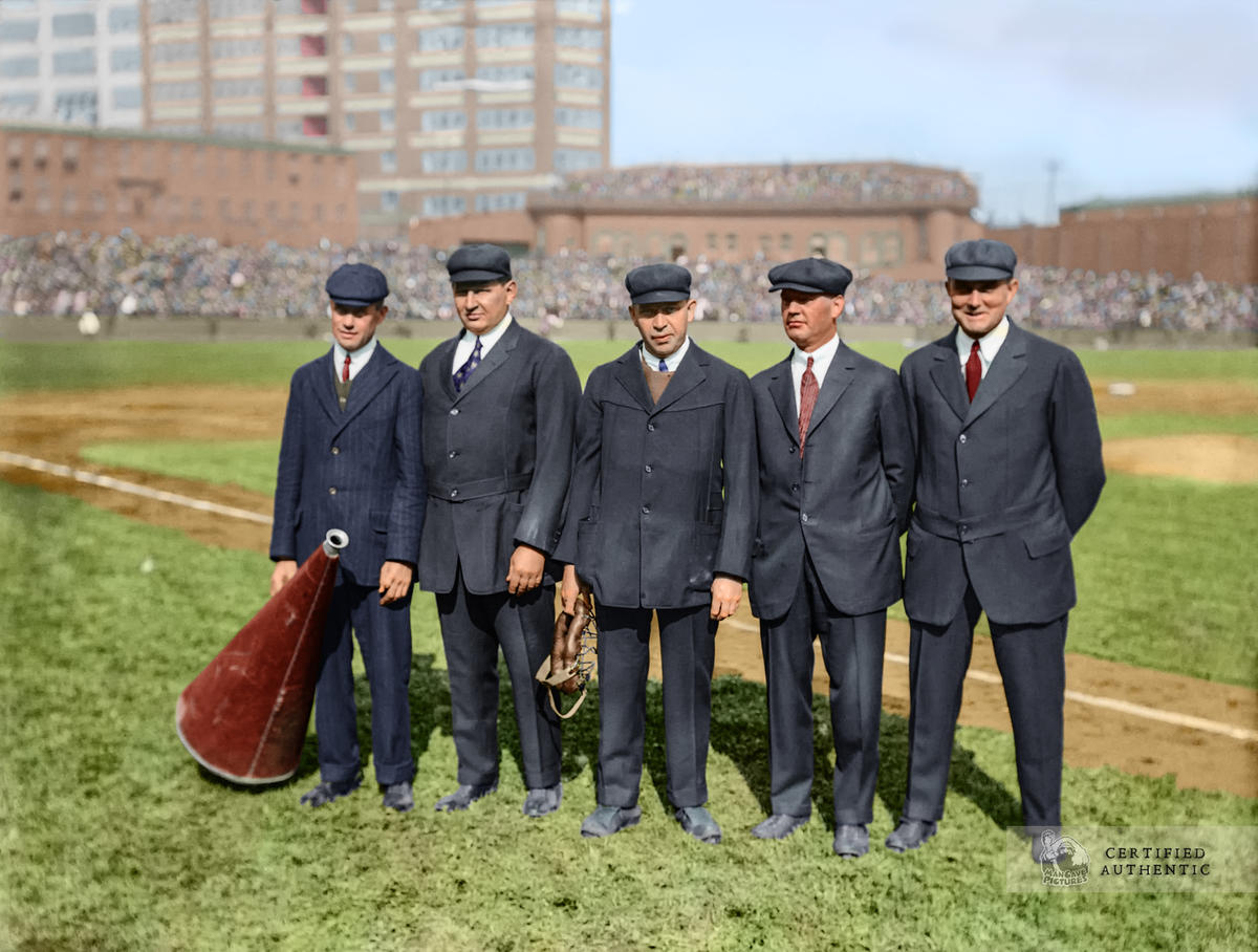 MLB Announcers and Umpires - 1915 World Series