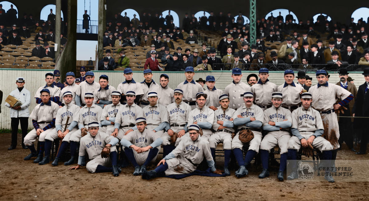 The First World Series - Boston Americans v. Pittsburg** Pirates (1903)