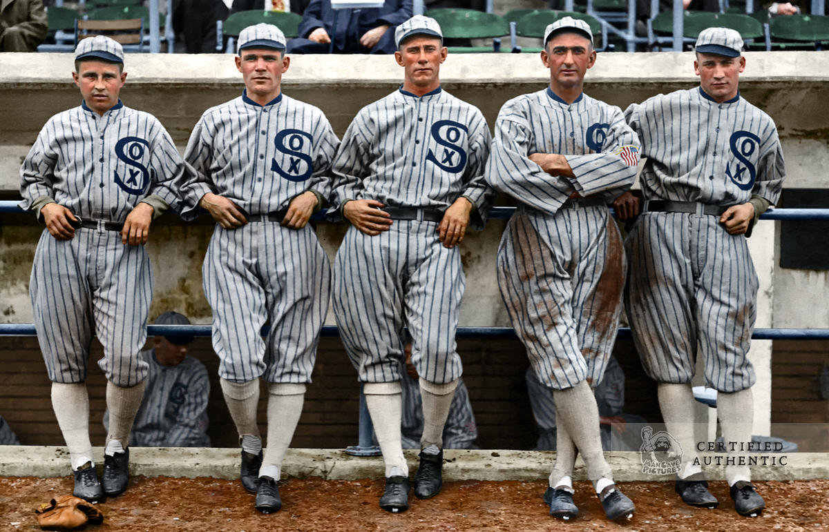 Chicago White Sox Outfielders - World Series Champions (1917)