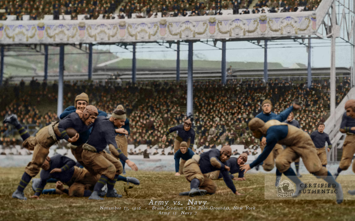 Army - Navy Game - November 25, 1916 @ Brush Stadium (The Polo Grounds)