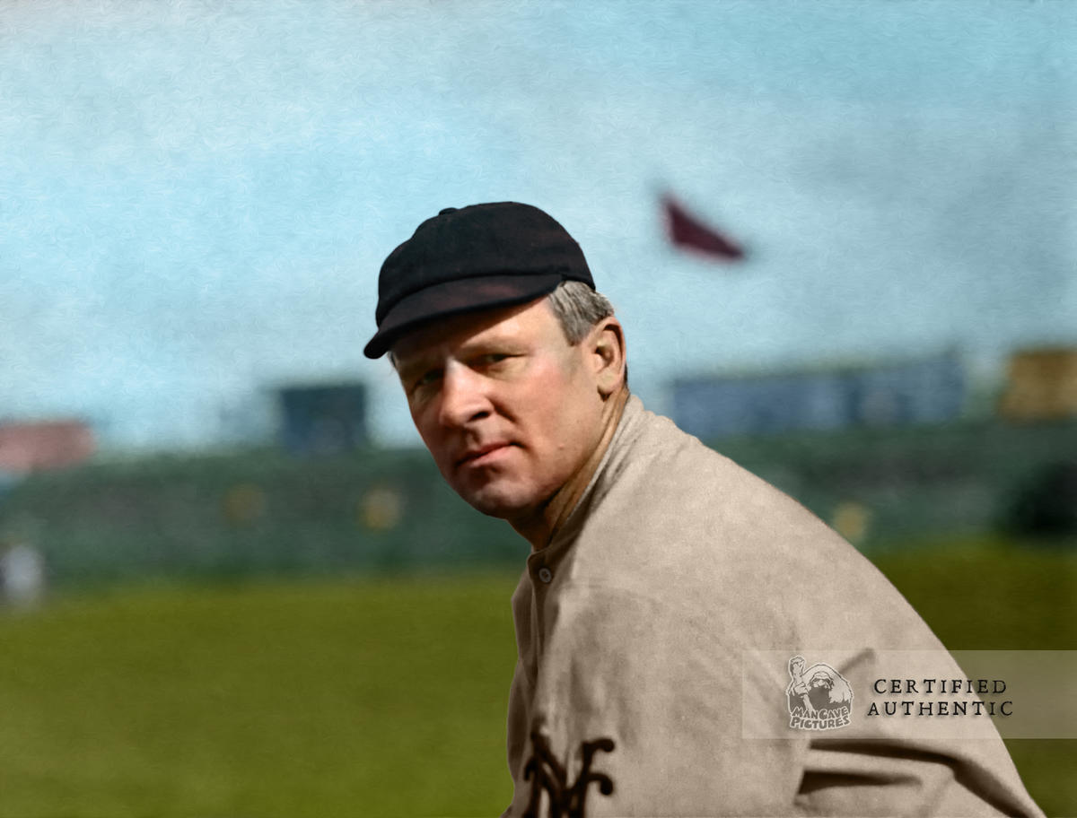John McGraw - New York Giants, Manager (1910)