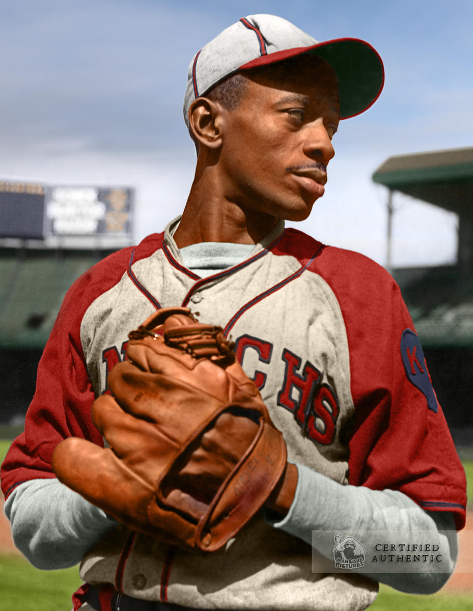 Satchel Paige - Kansas City Monarchs (1945)