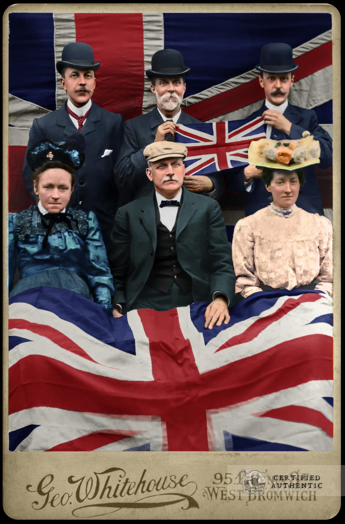 English Family, 1907