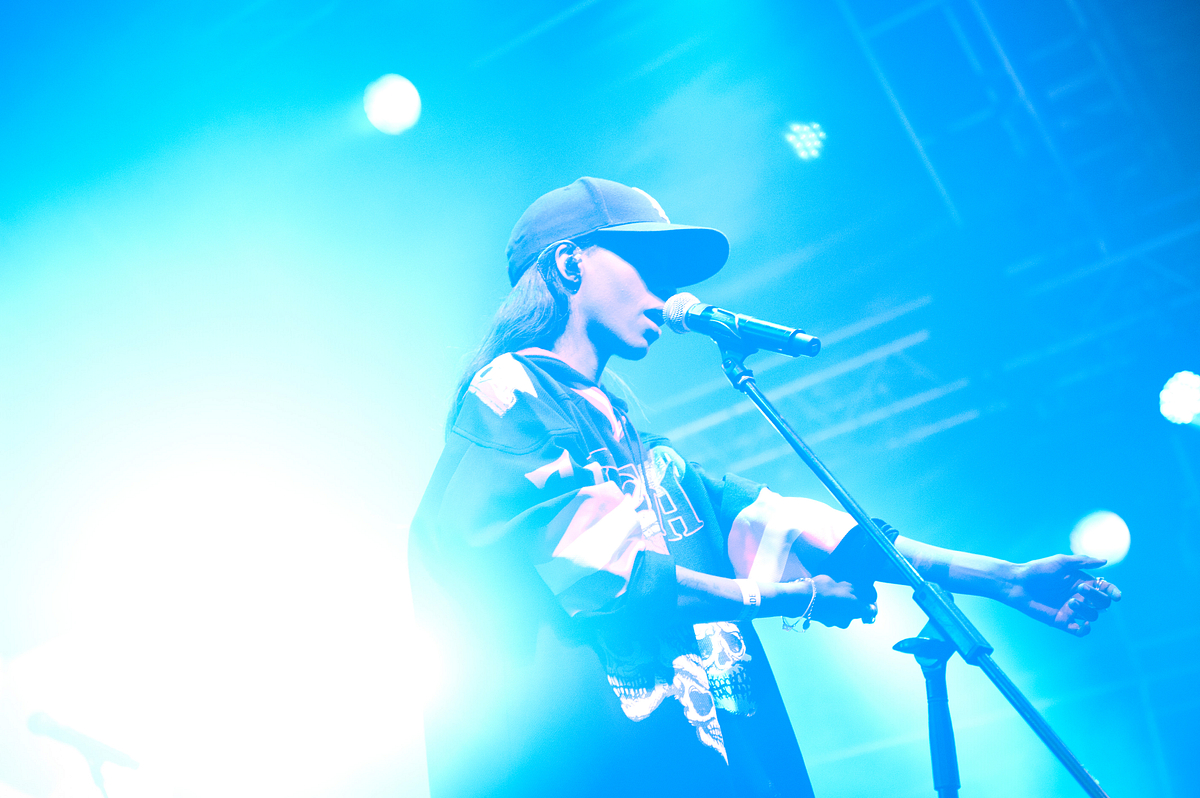 DRKRMS imagery from Clockenflap Music & Arts Festival