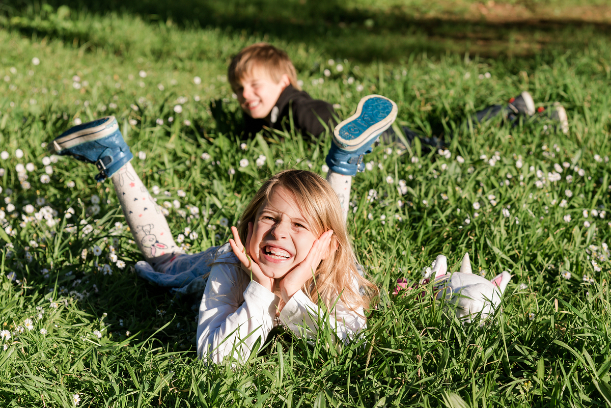 Playing at the park. Family photoshoot at Alcanada Beach Park. Mallorca. Balearic Islands.