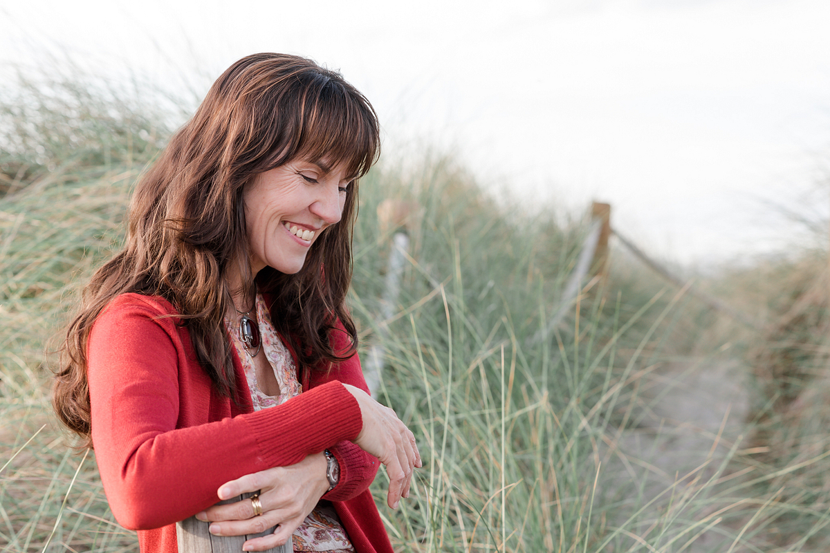 Shy beauty. Portrait session at the beach in Son Serra de Marina. Balearic Islands