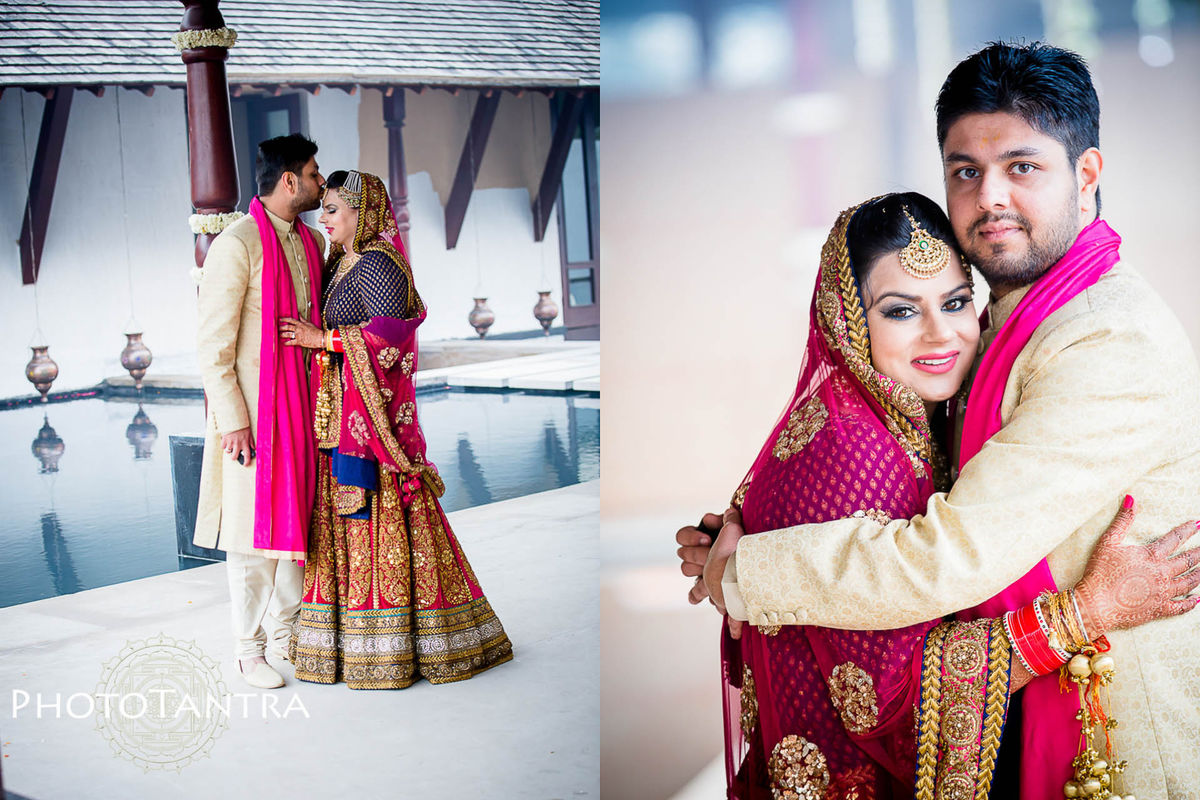 Wedding Photographer in Chandigarh, Delhi: Sukhmani and Arun's multicity wedding
