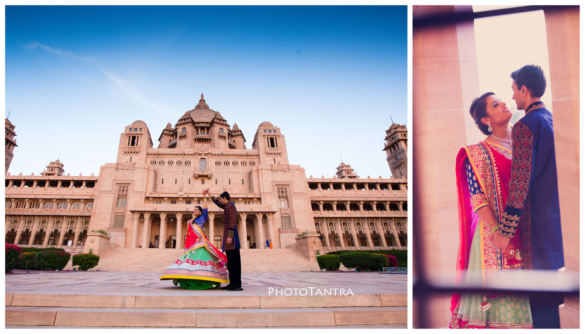 Krati and Darshil's Fairy Tale Wedding at The Taj Umaid Bhavan Palace