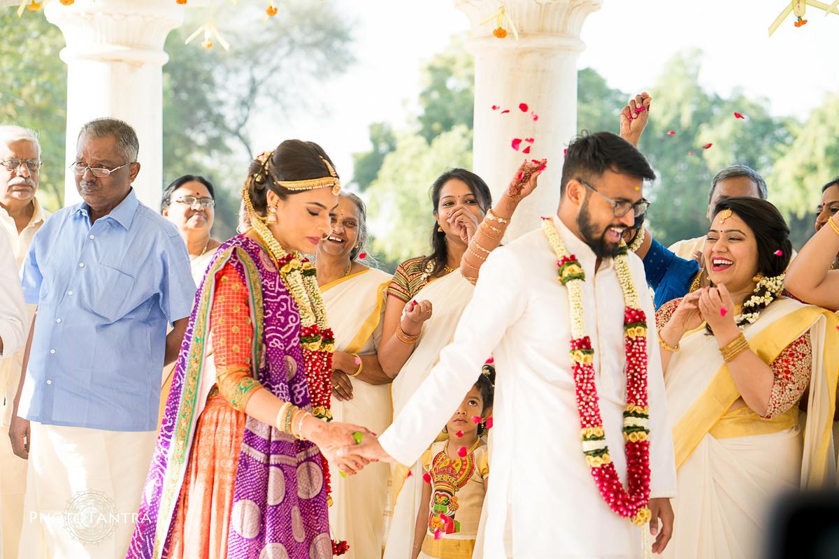 Aditya and Chandni's Malayali Wedding at The Umaid Bhavan Palace and Meherangarh