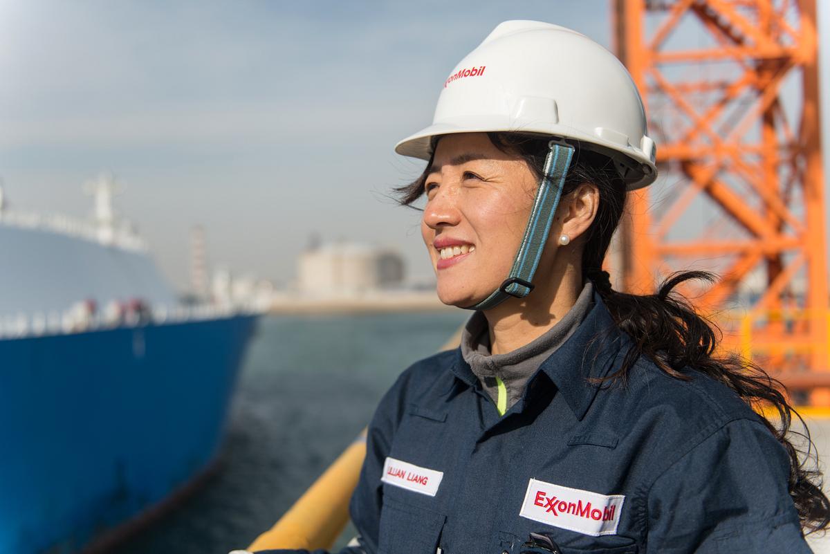 Sinopec ExxonMobil LNG
