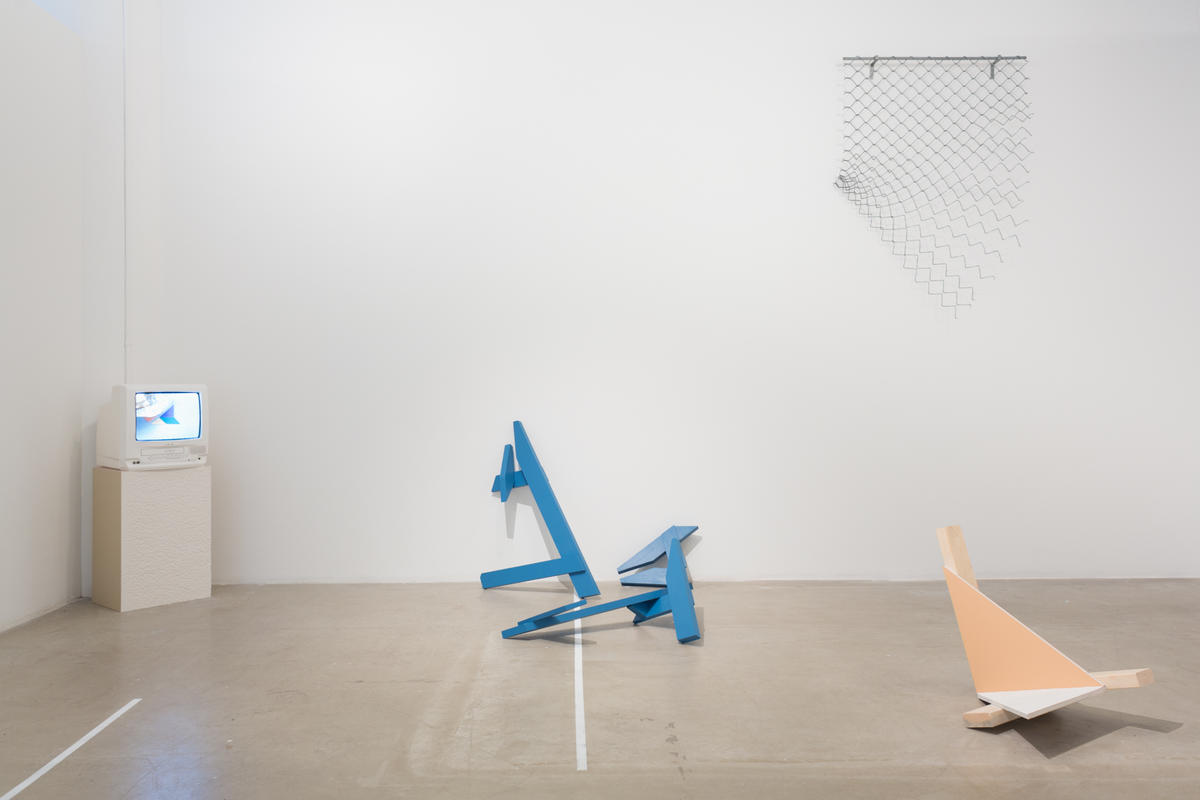 Installation view, Frances Lightbound and Michael Rado