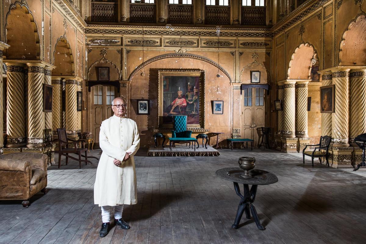 Raja of Mahmudabad, FT Weekend London