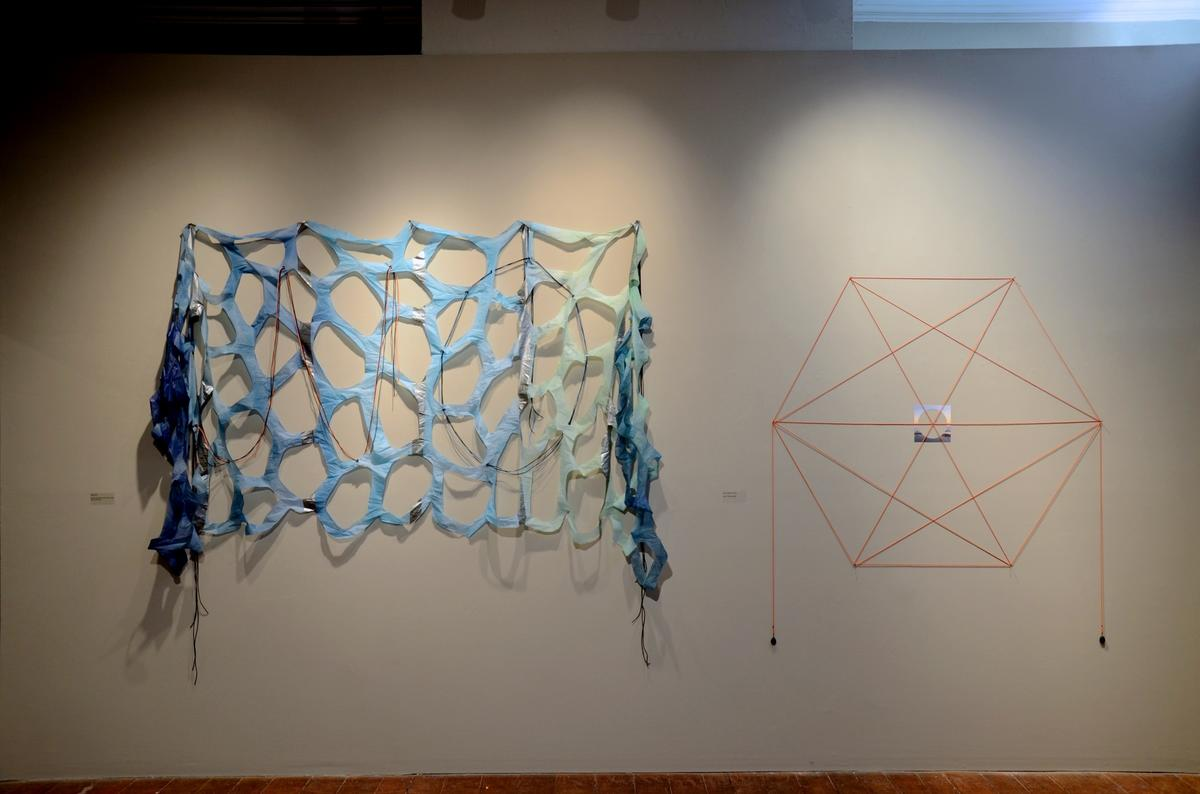 "Exhibition view ""Immersive Reflections"" at Gertrude Herbert Institute of Art, Augusta, GA, USA"