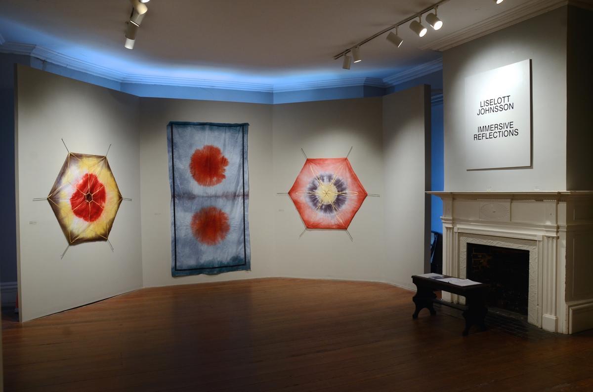"Exhibition view ""Immersive Reflections"" at Gertrude Herbert Institute of Art, Augusta, GA, USA"