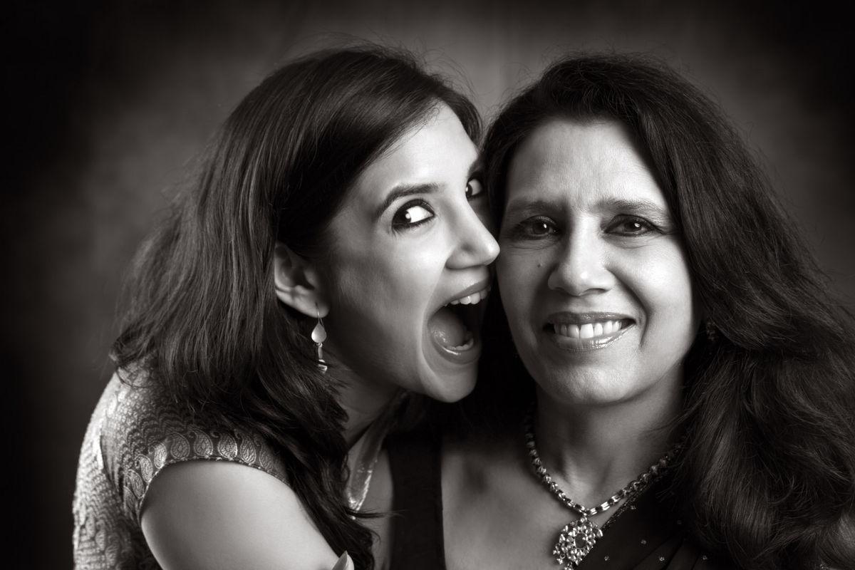 Nanika Joseph with her daughter, Rea.