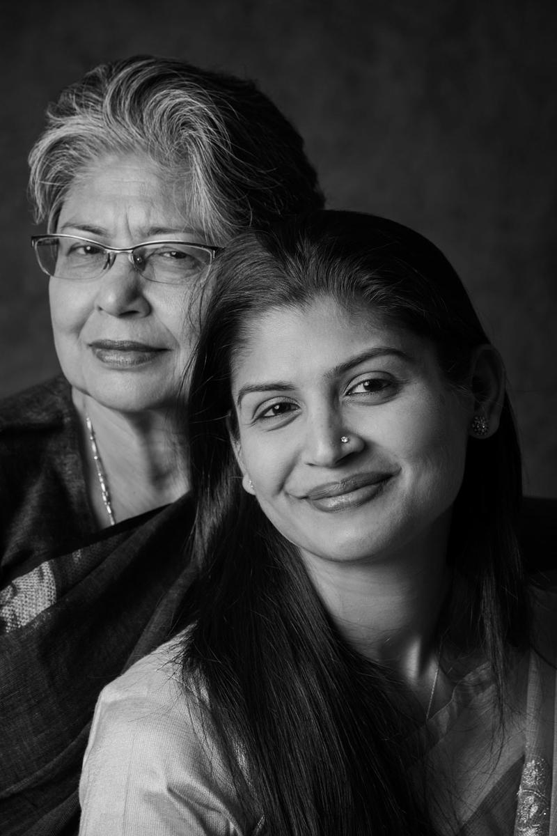 Yashaswini Chandra and her mother, Jayati Chandra ...