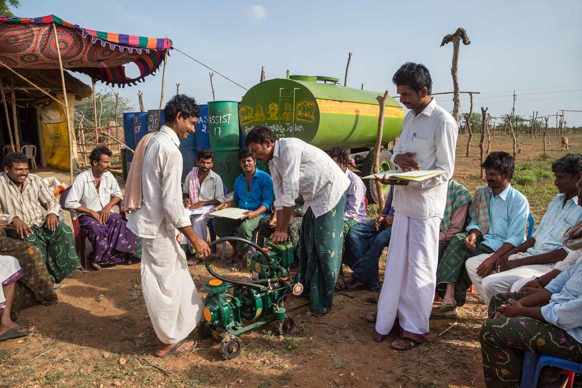 10 Farmers Co-operatives have been created to provide loans for agricultural implements and equipment .
