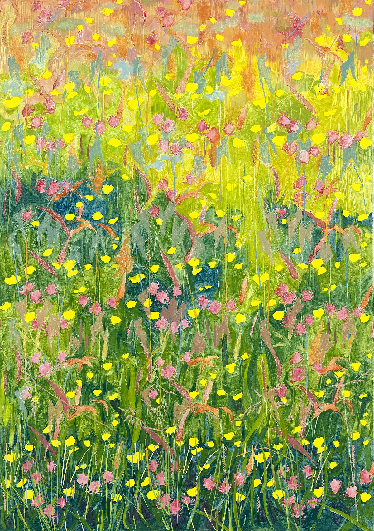 Summer Meadows, L Glover, 2014, SOLD