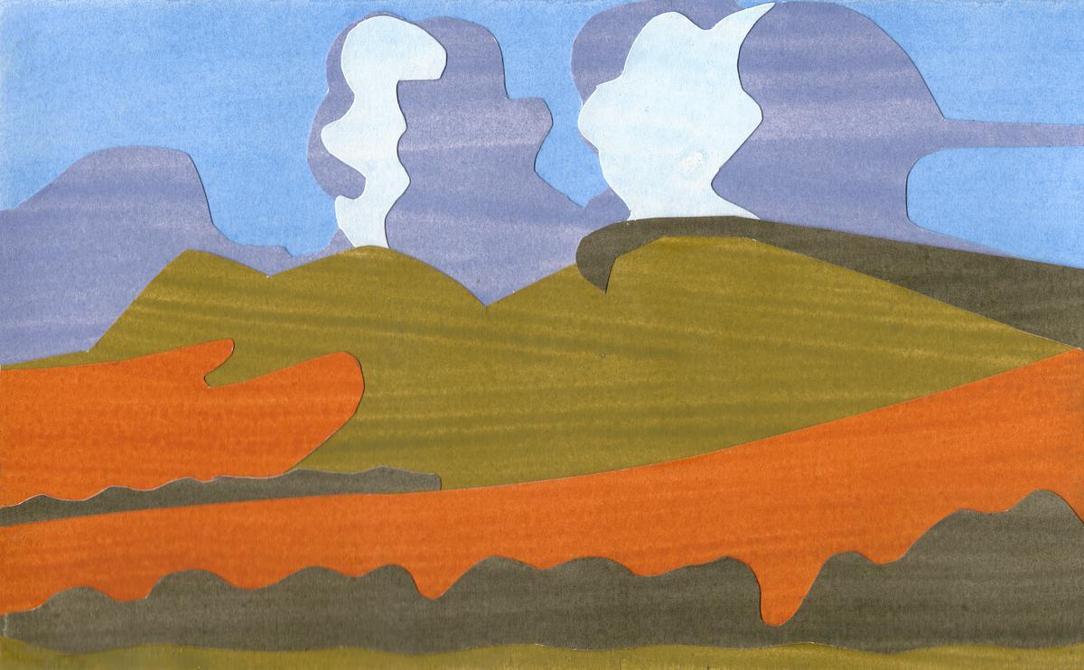 Ridgeway overlooking Ivinghoe Beacon Sunset