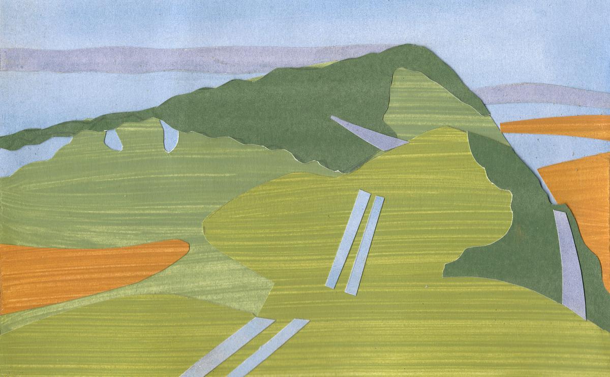 Ivinghoe Beacon Misty Morning