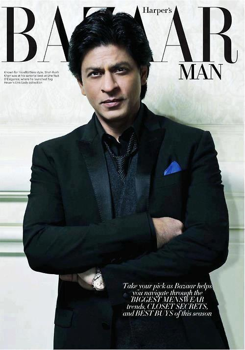 SRK for Harper's Bazaar