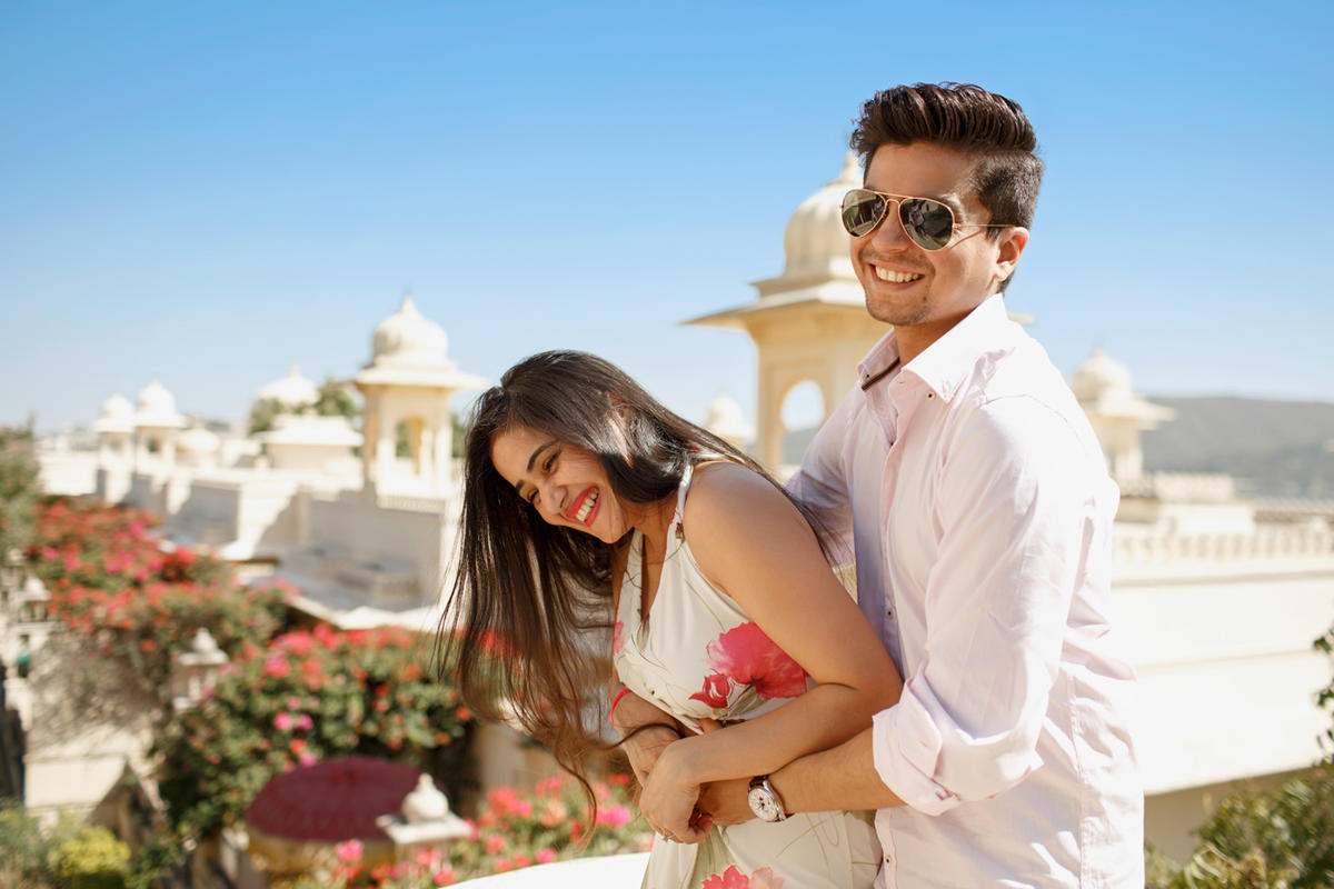 Dhruv and Shagan - Udaivilas Udaipur