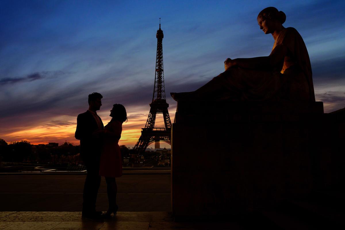 Tanvi and Mukul in paris