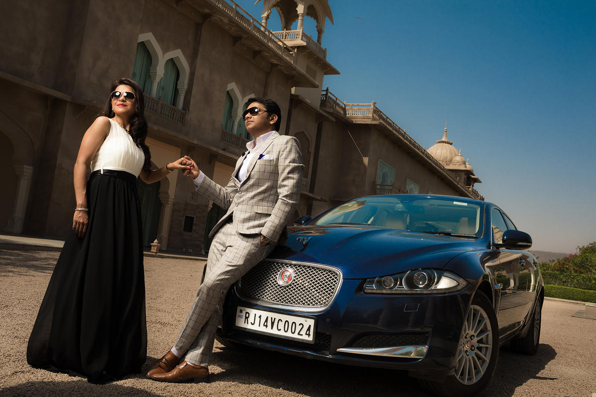 A+S Pre-Wedding shoot in Fairmont Hotel Jaipur