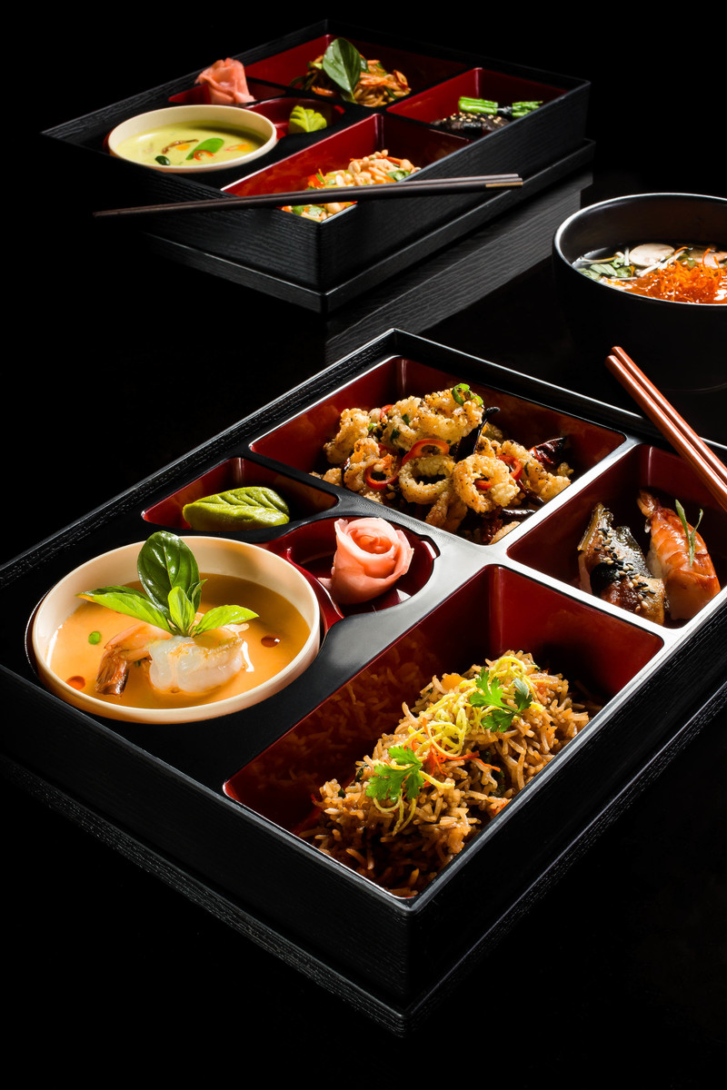 Seafood Bento - B-BAR, New Delhi