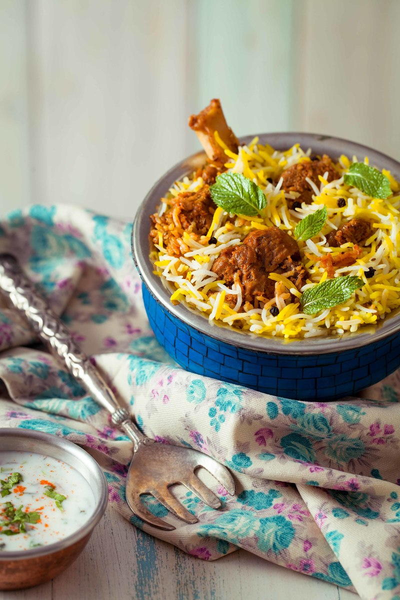 Mutton biryani - BIRYANI BLUES