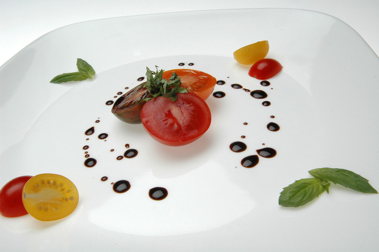 Tomatoes, Balsamic and Basil