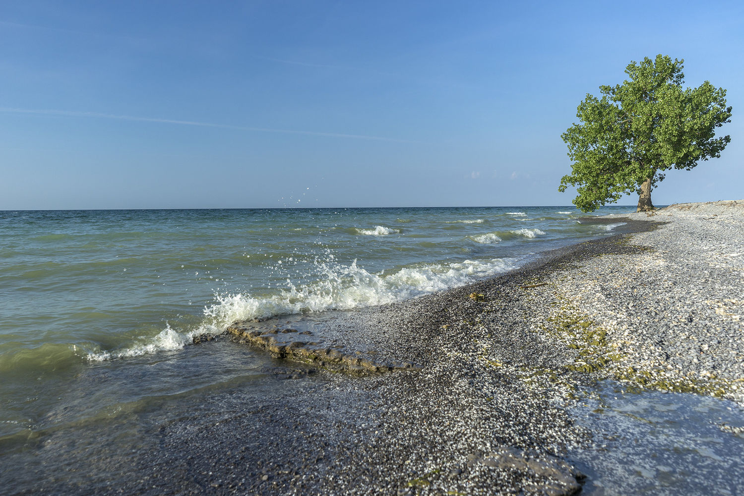 Ostrander Point, Prince Edward County, Ontario, Canada.