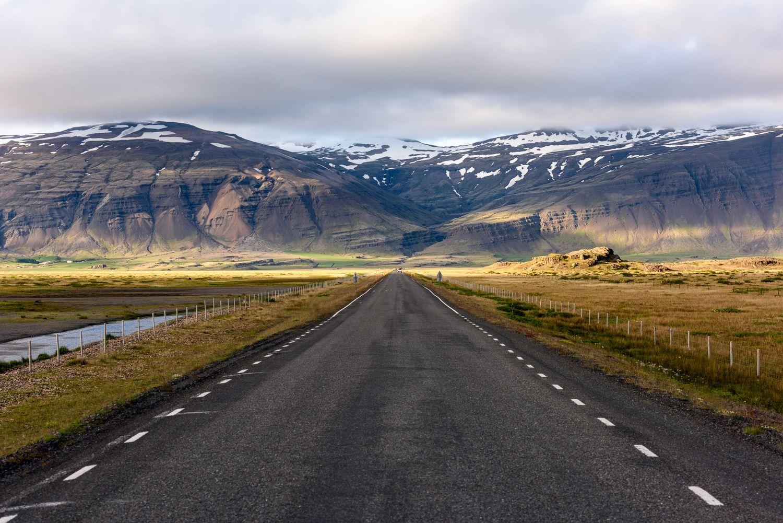 Caminos en Islandia