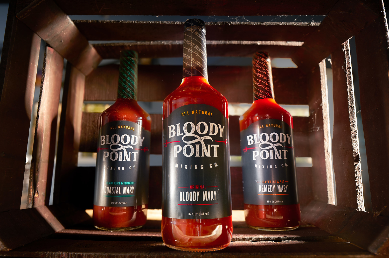 Bloody Point Food Photography, Behind the Scenes