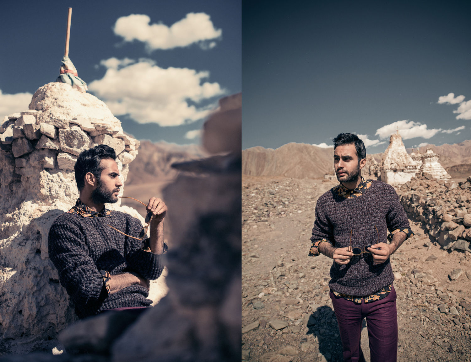 Udaybir for MW magazine. Photographed in Leh.