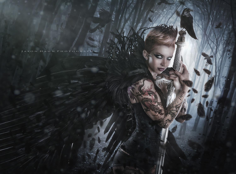 Raven Queen Model: Leiticia Pestova
